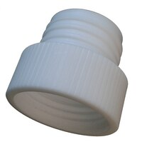 Bottle adapter (PTFE), S40 (bottle thread) to GL45 (outer